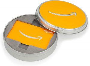 シルバー缶 オレンジ